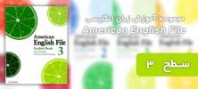 american3 222x100 - دانلود مجموعه آموزش زبان انگلیسی American English File سطح 3