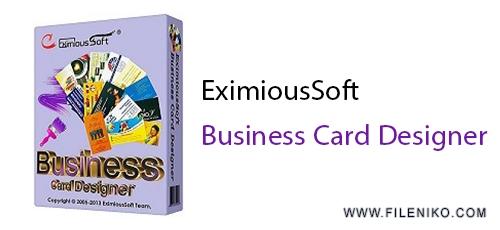 ex - دانلود EximiousSoft Business Card Designer 5.10 + Pro 3.02 طراحی کارت های ویزیت