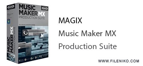 production - دانلود MAGIX Music Maker MX Production Suite 18.0.3.0 - ساخت و میکس موزیک