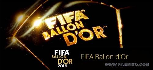 Ballon dOr 2016 - دانلود Ballon dOr 2016 مراسم توپ طلای 2016