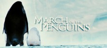 March 222x100 - دانلود مستند March of the Penguins 2005 رژه ی پنگوئن ها