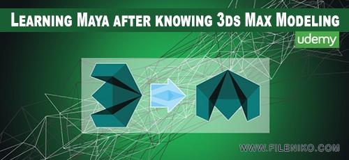 Udemy - دانلود فیلم آموزش مدل سازی توسط نرم افزار مایا با الحاق ۳DS MAX