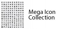 Untitled 128 222x100 - دانلود Mega Icon Collection مجموعه آیکون با موضوعات مختلف