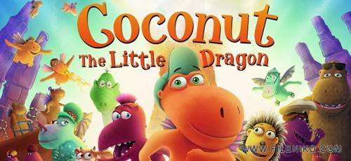 Coconut The Little Dragon - دانلود انیمیشن Coconut The Little Dragon 2014 با دوبله فارسی