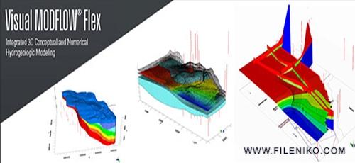 Untitled 3 4 - دانلود Schlumberger Visual MODFLOW Flex 2015.1 v3.0.507.4 نرم افزار نقشه برداری و شبیه سازی آب های زیرزمینی