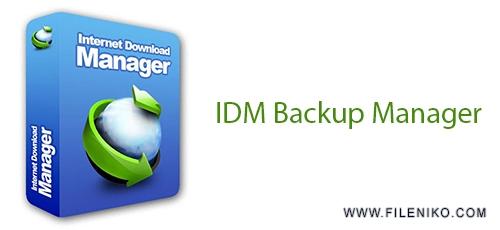 Untitled 6 1 - دانلود IDM Backup Manager 1.0.0 پشتیبان گیری از دانلود های نیمه تمام در نرم افزار IDM