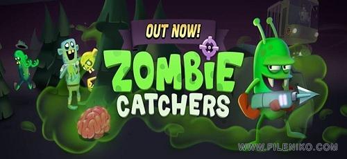 Zombie Catchers - دانلود Zombie Catchers 1.0.20  بازی فوق العاده گرفتن زامبی ها اندروید