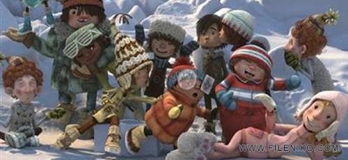 snowtime 1 - دانلود انیمیشن Snowtime 2015 با دوبله فارسی