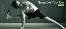 Seven 222x100 - دانلود فیلم آموزشی Seven Day Yoga Cut