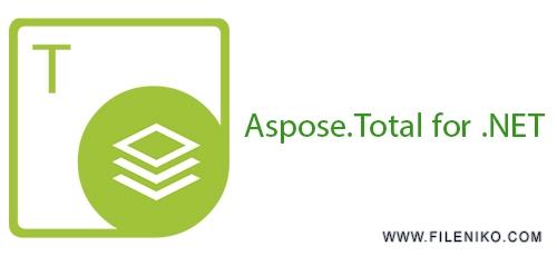 apose - دانلود Aspose.Total for .NET April 2018 کامپوننتهای Aspose