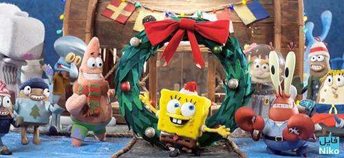 bob - دانلود انیمیشن کریسمس باب اسفنجی – It's a SpongeBob Christmas
