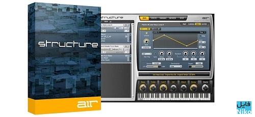 AIR Music Technology Structure Cover - دانلود AIR Music Technology Structure v2.0.7-R2R وی اس تی برای آهنگ سازی