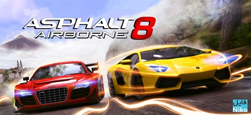 Asphalt 8 Airborne - دانلود بازی Asphalt 8 Airborne برای PC