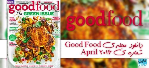 GFbbc - دانلود مجله ی BBC Good Food UK-April 2016