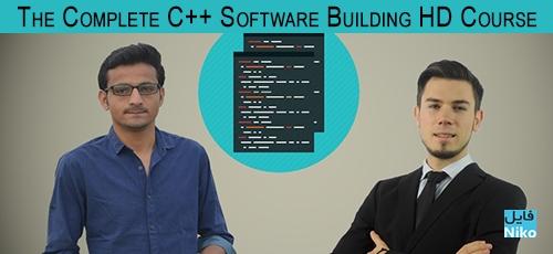 Course - دانلود The Complete C++ Software Building HD Course فیلم آموزش ساخت نرم افزار توسط ++C
