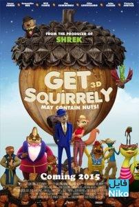 Get Squirrely 2015 BRRip 202x300 - دانلود انیمیشن Get Squirrely 2015 سنجاب باهوش با دوبله فارسی