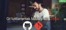 GitHub 222x100 - دانلود Udemy Git fundamentals Mastery with GitHub دوره آموزشی نرم افزار مدیریت منبع کد گیت