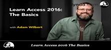 Untitled 1 29 222x100 - دانلود Learn Access 2016 The Basics فیلم آموزشی یادگیری مقدمات Access 2016