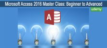 Advanced 222x100 - دانلود Udmey Microsoft Access 2016 Master Class: Beginner to Advanced  آموزش کامل مایکروسافت اکسس 2016