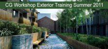 Exterior 222x100 - دانلود CG Workshop Exterior Training Summer 2011 - دوره آموزشی کامل طراحی خارجی در معماری