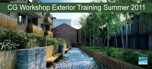 Exterior - دانلود CG Workshop Exterior Training Summer 2011 - دوره آموزشی کامل طراحی خارجی در معماری