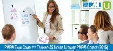PMP 222x100 - دانلود PMP® Exam Complete Training-35 Hours Ultimate PMP® Course 2016 - آموزش آزمون روش مدیریت پروژه پی ام پی