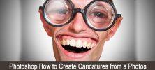 Photos 222x100 - دانلود Photoshop How to Create Caricatures from a Photos دوره آموزشی ساخت کاریکاتور از یک تصویر