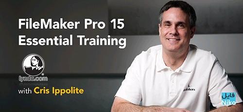 filemaker - دانلود Lynda FileMaker Pro 15 Essential Training  دوره آموزشی نرم افزار فایل میکر پرو 15