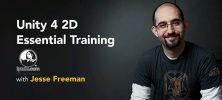 unity 222x100 - دانلود Lynda Unity 4 2D Essential Training دوره آموزشی طراحی بازی دو بعدی با یونیتی 4