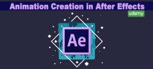 Animation 222x100 - دانلود Animation Creation in After Effects دوره آموزشی ساخت انیمیشن در افترافکت