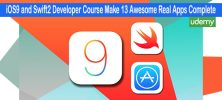 Complete 222x100 - دانلود Udemy iOS9 and Swift2 Developer Course Make 13 Awesome Real Apps Complete - دوره آموزشی طراحی 13 اپلیکیشن برای آی او اس 9 با سوئیفت 2