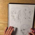 دانلود Fantasy Portraits with Pastel Pencils - دوره آموزشی طراحی پرتره با مدادرنگی آموزش نقاشی آموزشی مالتی مدیا