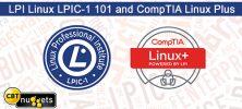 LPI 222x100 - دانلود CBT Nuggets LPI Linux LPIC-1 101 and CompTIA Linux Plus - دوره آموزشی کامپتیا لینوکس پلاس و ال پی آی ۱