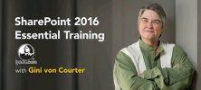 gini 222x100 - دانلود Lynda SharePoint 2016 Essential Training  دوره آموزشی شیرپوینت 2016 برای مبتدیان