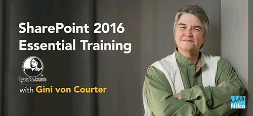 gini - دانلود Lynda SharePoint 2016 Essential Training  دوره آموزشی شیرپوینت 2016 برای مبتدیان