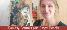 l Pencils 222x100 - دانلود Fantasy Portraits with Pastel Pencils - دوره آموزشی طراحی پرتره با مدادرنگی