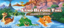 land 222x100 - دانلود انیمیشن The Land Before Time XIV: Journey of the Brave