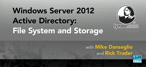server - دانلود Lynda Windows Server 2012 Active Directory: File System and Storage  دوره آموزشی اکتیو دایرکتوری ویندوز سرور 2012