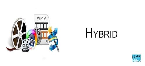 Hybrid - دانلود Hybrid 2019.12.01.1 مبدل فایل های صوتی و تصویری