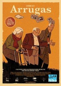 Wrinkles Arrugas poster 214x300 - دانلود انیمیشن Wrinkles با زیرنویس فارسی