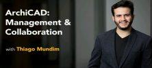 Untitled 1 42 222x100 - دانلود Lynda ArchiCAD: Management and Collaboration آموزش امکانات مدیریت و همکاری در ArchiCAD