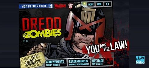 ۳ 2 - دانلود Judge Dredd vs. Zombies 1.8  بازی قاضی Dredd در مقابل زامبی ها اندروید