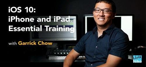 Untitled 1 28 - دانلود Lynda iOS 10: iPhone and iPad Essential Training فیلم آموزشی آی او اس 10: آیفون و آیپد