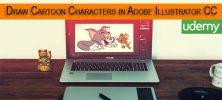 template 3 7 222x100 - دانلود Udemy Drawing Course: Cartoon Characters in Adobe Illustrator CC فیلم آموزشی ایجاد کاراکترهای کارتونی در ادوبی ایلاستریتور سی سی