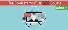 The Complete YouTube SEO Course 222x100 - دانلود Udemy The Complete YouTube SEO Course فیلم آموزشی دوره کامل سئو یوتیوب ۲۰۱۶
