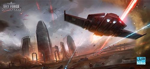 Untitled 3 5 - دانلود Sky Force Reloaded v1.83 بازی خارق العاده نیروی آسمان 2016 اندروید + مود + دیتا