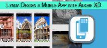 mobile 222x100 - دانلود Lynda Design a Mobile App with Adobe XD فیلم آموزشی طراحی اپلیکیشن موبایل با استفاده از Adobe XD