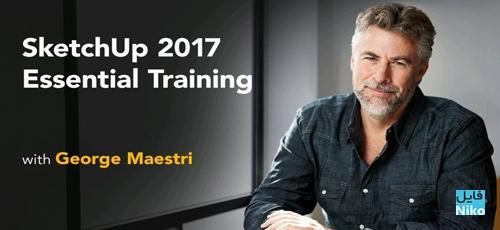 Untitled 1 2 - دانلود Lynda SketchUp 2017 Essential Training فیلم آموزشی اسکچاپ 2017