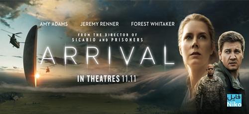 Arrival 2016 - دانلود فیلم سینمایی Arrival 2016 با دوبله فارسی