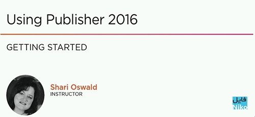 Untitled 3 20 - دانلود Pluralsight Using Publisher 2016 فیلم آموزشی کار با Publisher 2016